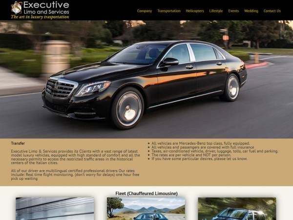EXECUTIVE LIMO AND SERVICES
