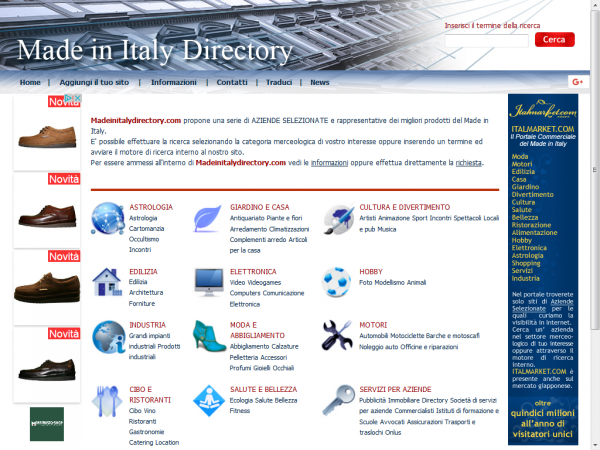 MADE IN ITALY DIRECTORY
