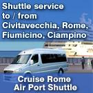 CRUISE ROME AIRPORT SHUTTLE
