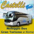 CASTELLI BUS MALANTUONO - NOLEGGIO BUS GRAN TURISMO A ROMA