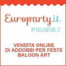 EUROPARTY - addobbi per feste