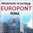 ponteggi a Roma - Europont