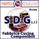 SDG Cucine produzione vendita a roma