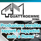 quattroemme roma produzione vendita tappetini auto