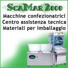 Scamar 2000 roma produzione macchine confezionatrici