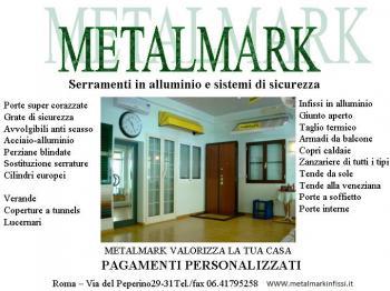 METALMARK - INFISSI IN ALLUMINIO ROMA