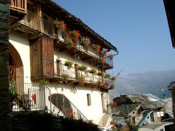 ALBERGO RISTORANTE LA FONT - vacanze montagna castelmagno CASTELMAGNO