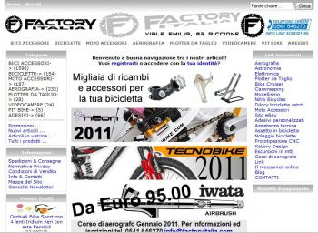 FACTORYITALIA.COM S.A.S. - Biciclette e accessori online RICCIONE