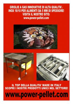 POWER-PORTAL - GRIGLIE GRILL BARBECUE A GAS MAJANO