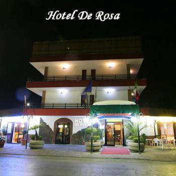 HOTEL DE ROSA - sito in Via Parrella,1 BOSCOREALE