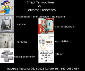 EFFEPITERMOCLIMA DI PETRARCA FRANCESCO - installazione manutenzio assis LORETO